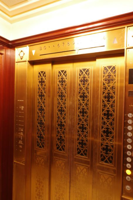 ホテルモントレ大阪 エレベーター